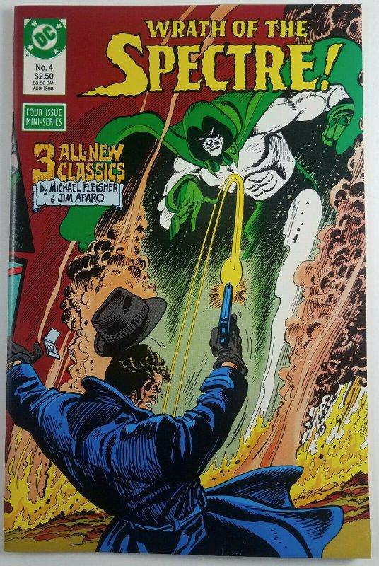Wrath of the Spectre 1988 Complete Full Run 1,2,3 & 4 DC Comics High Grade 9.0+