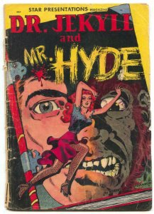 Star Presentations #3- Dr Jekyll & Mr Hyde Wally Wood missing centerfold