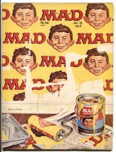 Mad Magazine #148 1972-Peanuts parody G/VG