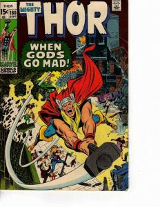 THOR 180 VG Sept. 1970 NEAL ADAMS