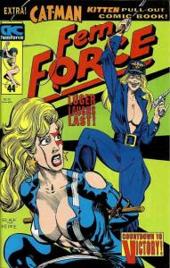 Femforce #44 VF; AC | save on shipping - details inside