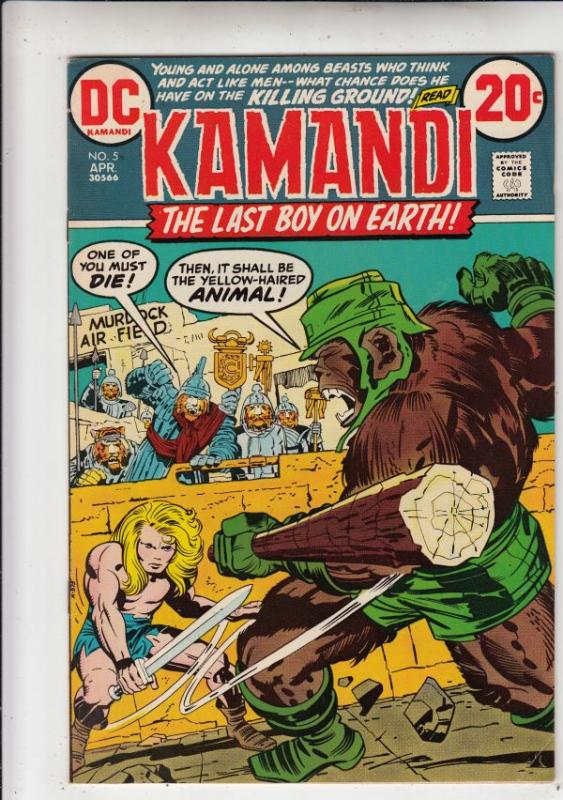 Kamandi the Last Boy on Earth #5 (Apr-73) VF/NM+ High-Grade Kamandi