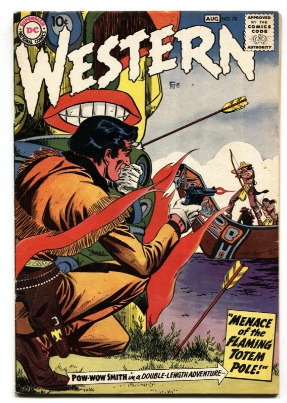 Western Comics #70 1958-POW WOW SMITH-Silver Age-FN+