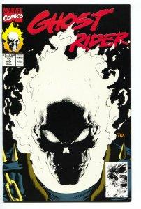 GHOST RIDER #15--1991-Glow in the Dark-comic book