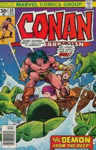 Conan the Barbarian #69 FN; Marvel | save on shipping - details inside