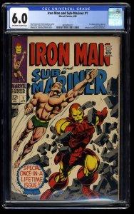 Iron Man and Sub-Mariner #1 CGC FN 6.0 Off White to White