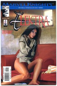 ELEKTRA 12, NM+, Greg Horn, Sai, Martial Arts, Femme Fatale, Greg Rucka, 2001