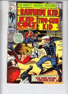 Mighty Marvel Western #7 (Jan-70) NM/NM- High-Grade Rawhide Kid, Kid Colt, Tw...