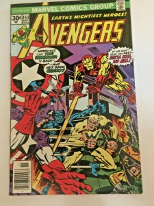 Avengers #153 1976 Marvel The Whizzer Appearance VFN See Pictures!! Iron Man