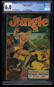 Jungle Comics #92 CGC FN 6.0 Off White to White