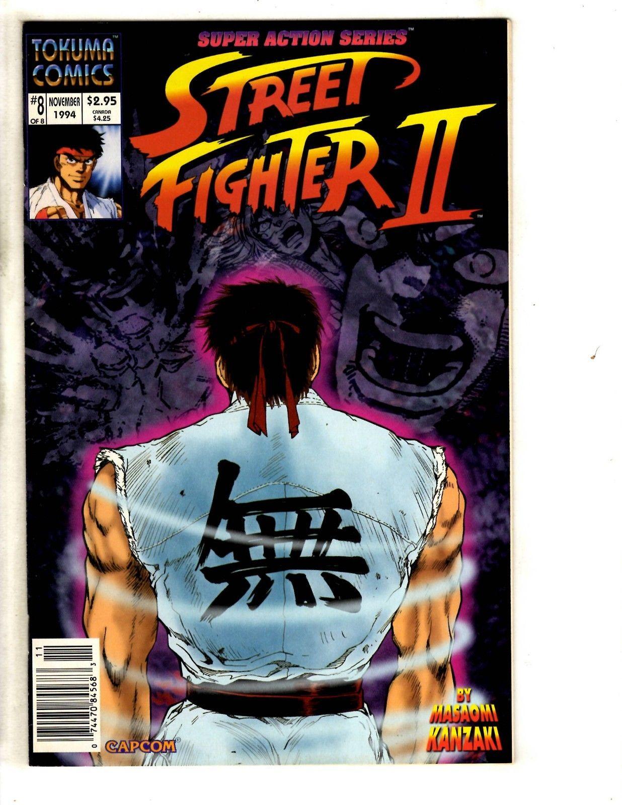 Street Fighter 2 # 8 NM Tokuma Comic Book Video Game E-Honda Super