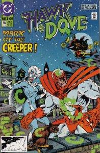 DC Comics! Hawk and Dove! Issue 18!