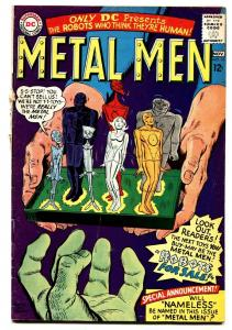 METAL MEN #16 comic book-ROBOTS-1965-D