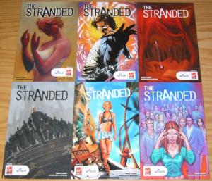 the Stranded #1-5 VF/NM complete series + variant - mike carey syfy 2 3 4 virgin
