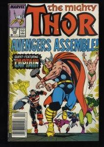 Thor #390 FN 6.0 Captain America Wields Thor's Hammer! Marvel Comics