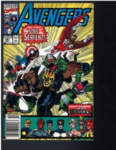 Avengers #341 (Marvel, 1991)