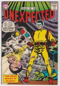 Tales of the Unexpected #77 (Jul-63) VG/FN- Mid-Grade Space Ranger, Cyrl