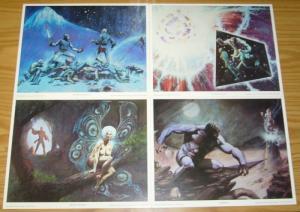 Metamorphosis Odyssey Portfolio by Jim Starlin - dreadstar prints - sqp 1980 set