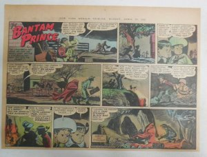 The Bantam Prince Sunday by Lariar and Spranger from 4/29/1951 Size: 11 x 15 in