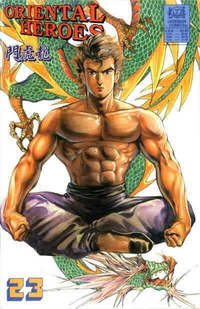 Oriental Heroes #23 VF/NM; Jademan   save on shipping - details inside