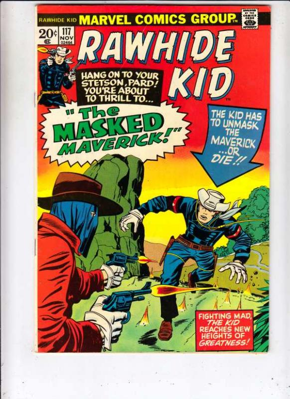 Rawhide Kid #117 (Nov-73) VF+ High-Grade Rawhide Kid