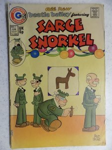 Beetle Bailey Featuring Sarge Snorkel #3 (1974)