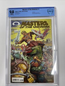 Masters of the Universe #1 CBCS 9.8 preview of Invincible #1 Gold Foil Variant
