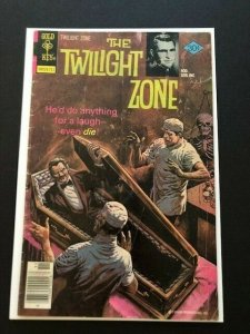 GOLD KEY Rod Sterling THE TWILIGHT ZONE #81 1977 G/VG (A119)