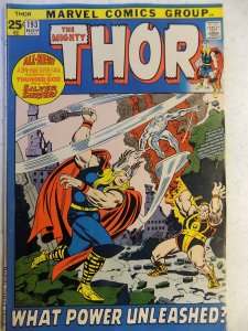 THOR # 193 MARVEL BRONZE GIANT AWESOME SILVER SURFER SLIGHT SUB CREASE