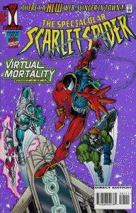 Spectacular Scarlet Spider #1 VF/NM; Marvel   save on shipping - details inside