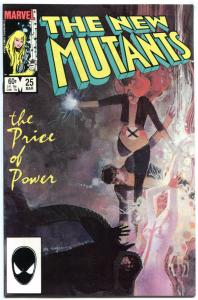 NEW MUTANTS #25, NM-, Legion, Claremont, Sienkiewicz, 1983 1985, more in store