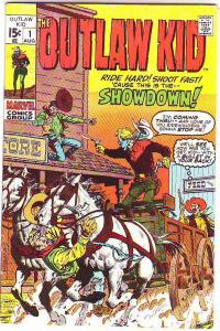 Outlaw Kid #1 (Aug-70) VF+ High-Grade Outlaw Kid