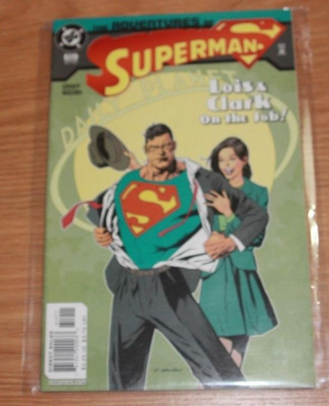 Adventures of Superman  COMIC # 619 (Oct 2003, DC) LOIS AND CLARK ON THEJOB