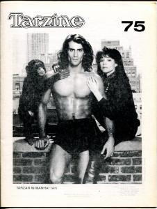 Tarzine #75 4/1989-Bill Ross-Edgar Rice Burroughs-Tarzan in Mahattan cover-VF