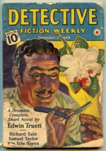 Detective Fiction Weekly Pulp September 30 1939- Lone Wolf G