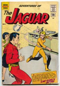 Adventures of the Jaguar #6 1962- Archie- CAT GIRL G
