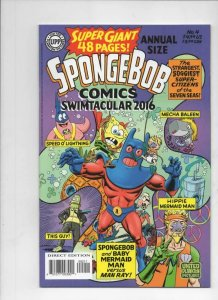 SPONGEBOB #4 Annual, NM, Square pants, Bongo, Cartoon comic, 2016, more in store