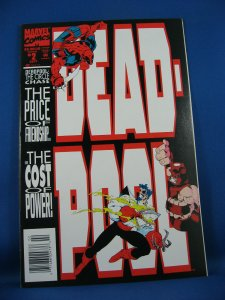 DEADPOOL CIRCLE CHASE 1-4 NM- Complete Mini Series 1993