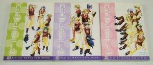 Cafe Kichijouji vol. 1-3 VF complete series - digital manga set kyoko negishi 2