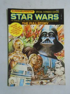 Screen Superstar Star Wars Special Expanded Edition #8 8.0 VF (1977 Paradise)