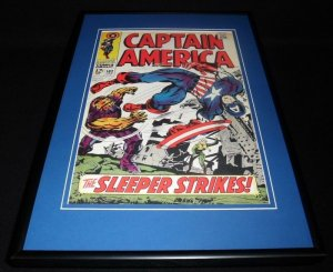 Captain America #102 Framed 12x18 Cover Poster Display Official RP The Sleeper