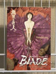 Blade of the Immortal Vol 3 Dreamsong TPB Hiroaki Samura READER COPY