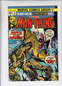 Man-Thing #13 (Feb-75) NM- High-Grade Man-Thing