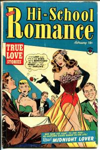 Hi-School Romance #13 1952-Harvey-spicy dancer-Bob Powell story art-G/VG