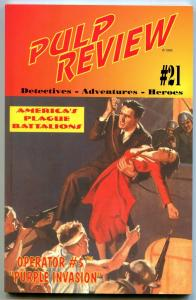 Pulp Review #21-OPERATOR #5 Purple Invasion