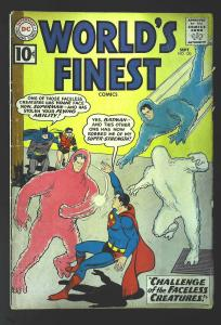 World's Finest Comics #122, Fine- (Actual scan)