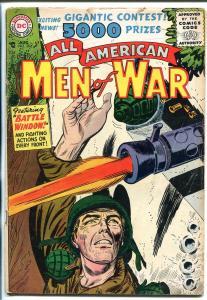 ALL AMERICAN MEN OF WAR  #36 1956-DC-JOE KUBERT-INDIAN STORY-vg minus