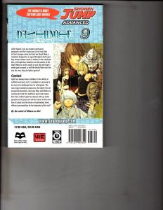 Death Note Vol. # 9 Shonen Jump Advanced Viz Media Manga Comic Book Anime AB1
