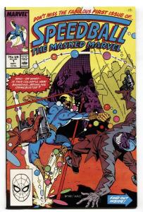Speedball #1-1988-Marvel-First appearance-comic book