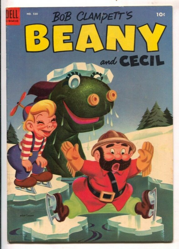 Bob Clampett's Beany and Cecil-Four Color Comics #530-Dell-based on TV series-VG